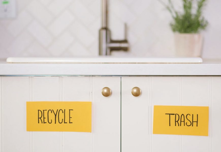 The Best Way to Handle Trash and Recycling During a Party